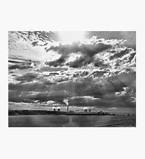 Big Sky - Didcot Photographic Print