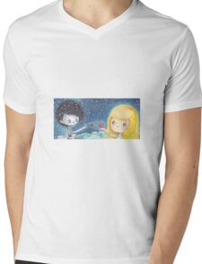Edward Shissorhands, a present Mens V-Neck T-Shirt