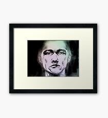 """Man portrait""   Framed Print"