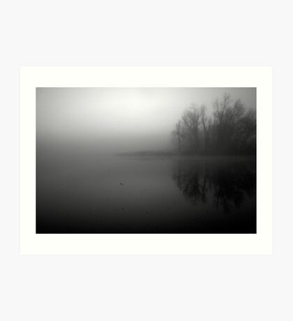 In the still of the morning Art Print