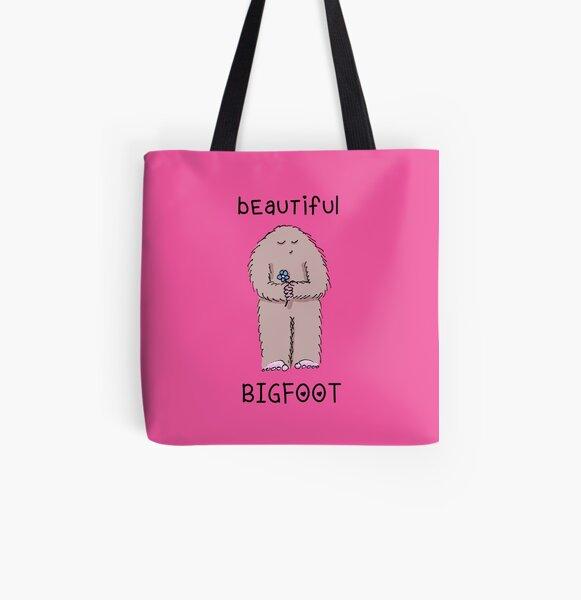 beautiful bigfoot All Over Print Tote Bag
