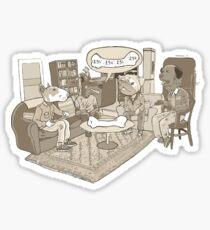 the big bone theory Sticker