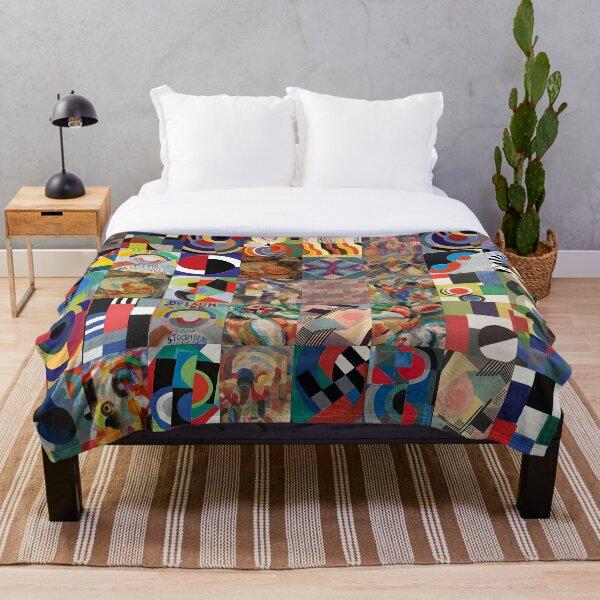 Sonia Delaunay Throw Blanket