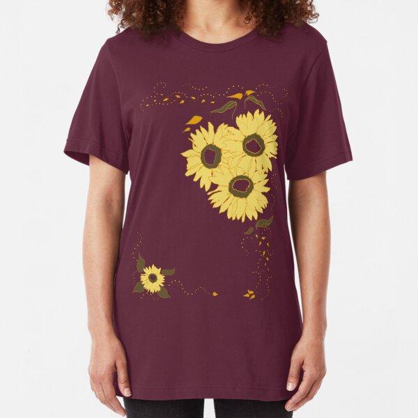 Sunflowers Galore Slim Fit T-Shirt