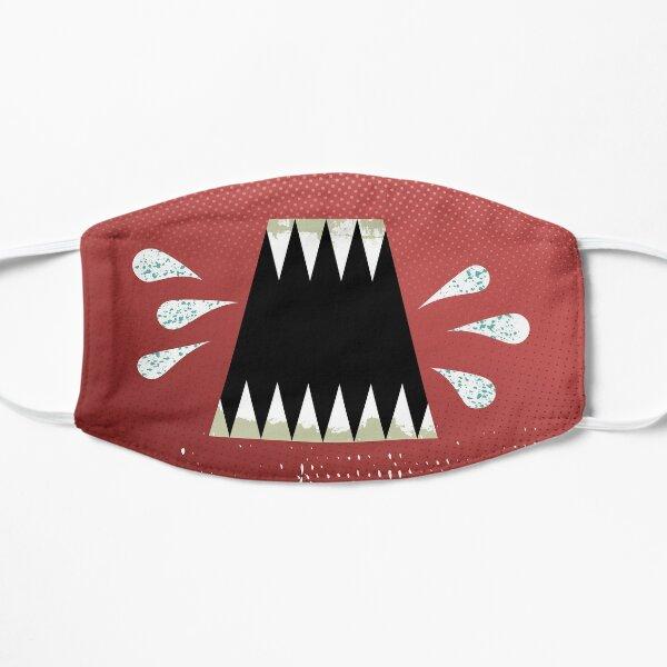 Geiferndes Maul Flache Maske