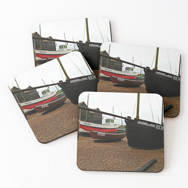 Boats on the Stade Coasters (Set of 4)