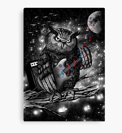 The Hoo Canvas Print