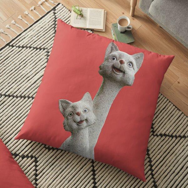Foxy Ladies Floor Pillow