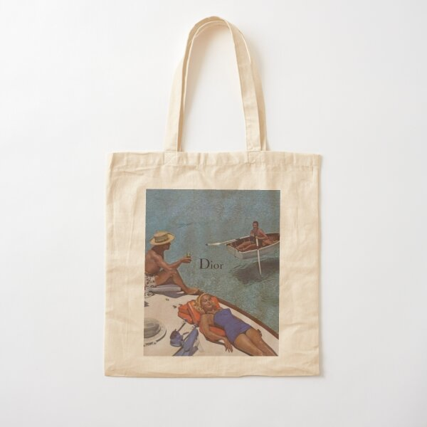 vintage glam bby Cotton Tote Bag