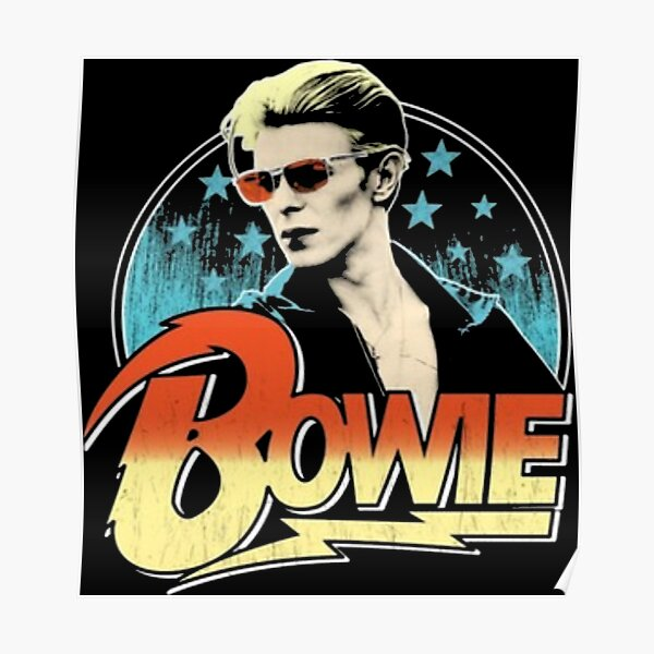 Bowie Vintage Poster