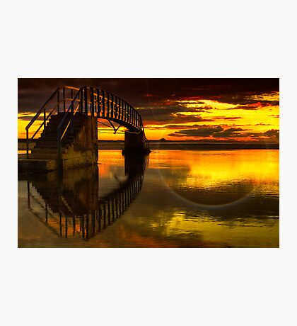 Bridge to Nowhere Photographic Print