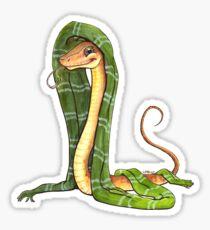 Snake House Mascot Sticker