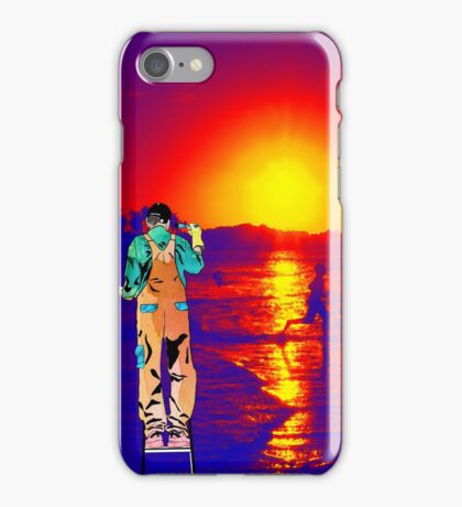 Paint me the sunset iPhone Case/Skin