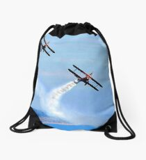 The Only Way To Fly! Drawstring Bag