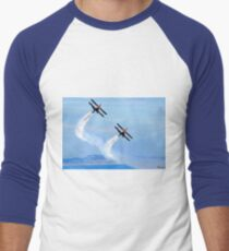 The Only Way To Fly! Men's Baseball ¾ T-Shirt