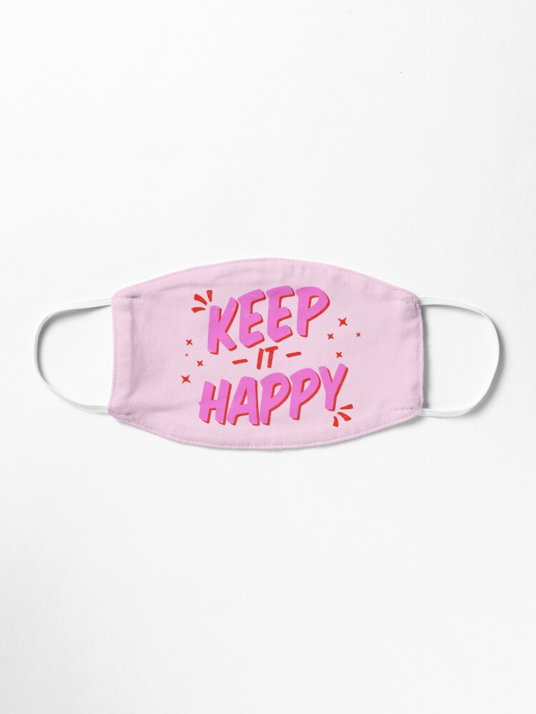 Alternate view of Keep it Happy Lettering Mask