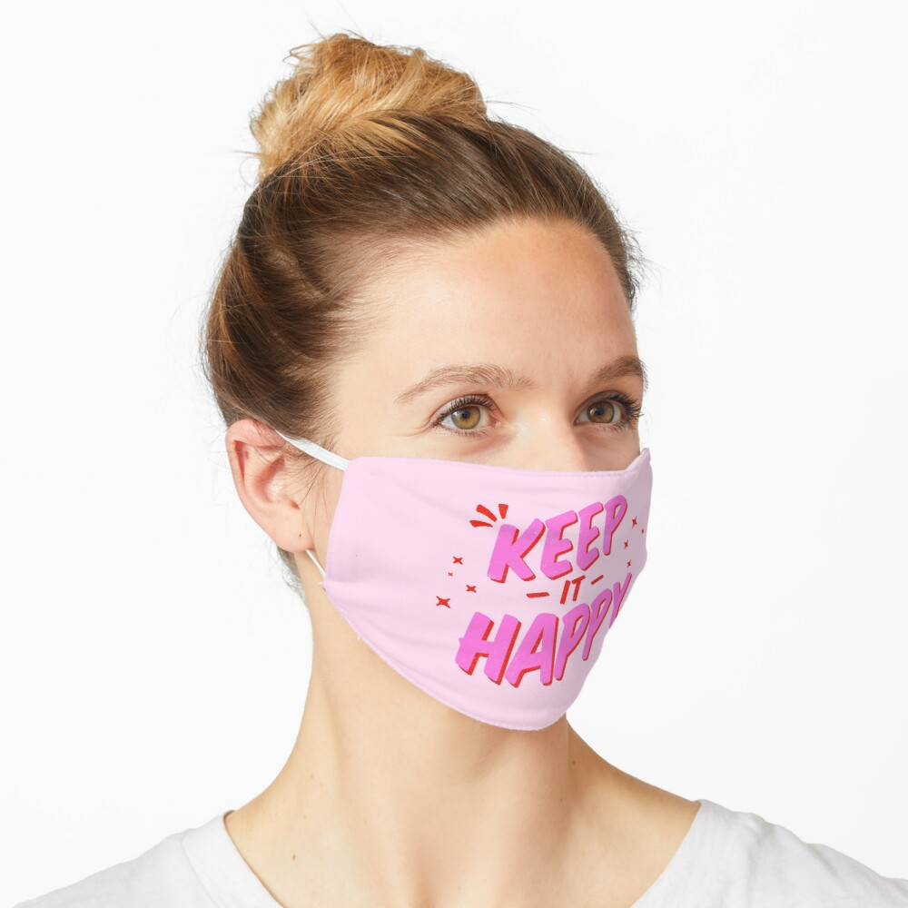 Keep it Happy Lettering Mask