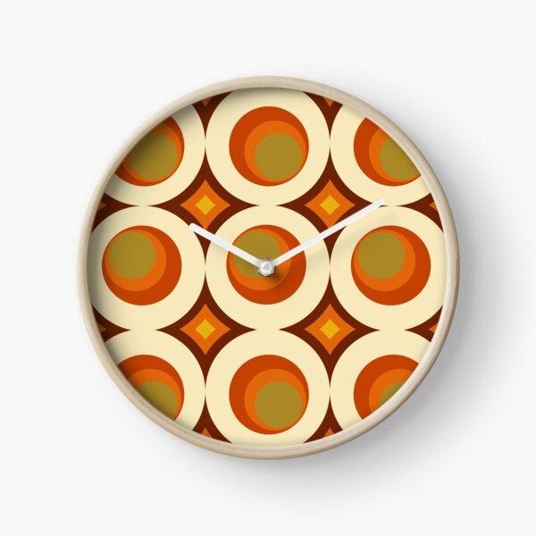 Mid-Century Modern 70s Clock