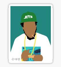 Curren$y Sticker