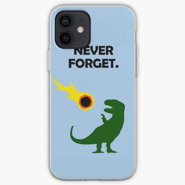 Never Forget (Dinosaurs) iPhone Soft Case
