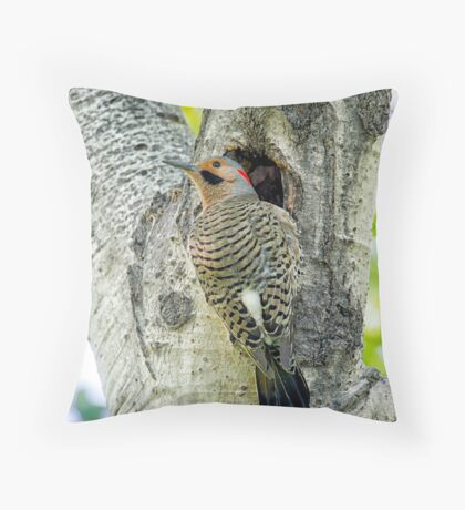 At the nest  Throw Pillow