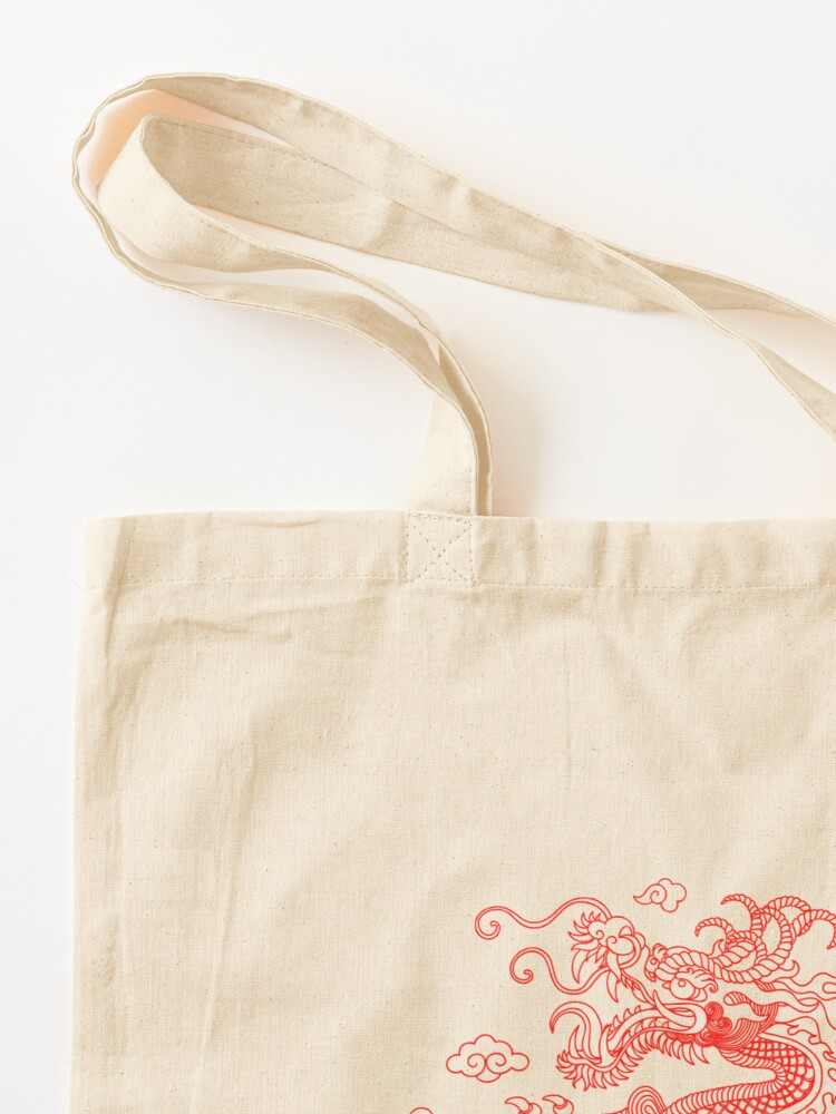Alternate view of Red Dragon Tote Bag