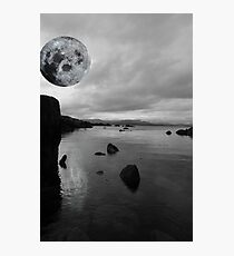 kerry black and white night view Photographic Print
