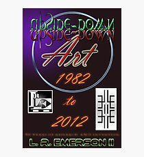 Upside-Down Artwork, and Drawing and Masg Art by internationally acclaimed artist L. R. Emerson II.  Photographic Print