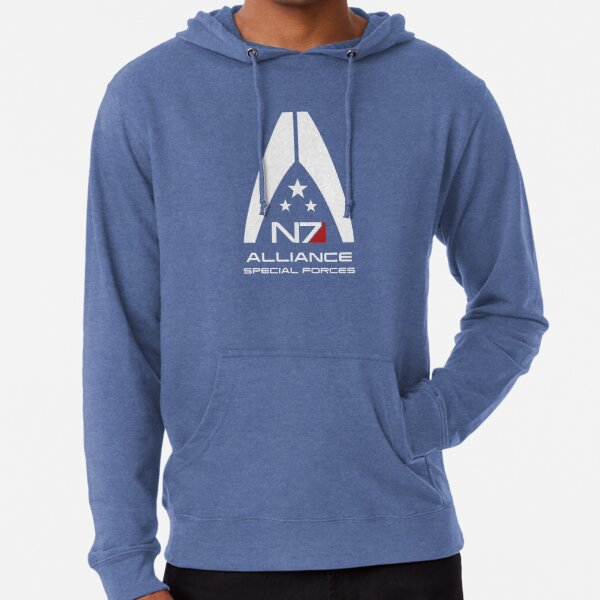Mass Effect - Alliance Special Forces N7 Lightweight Hoodie