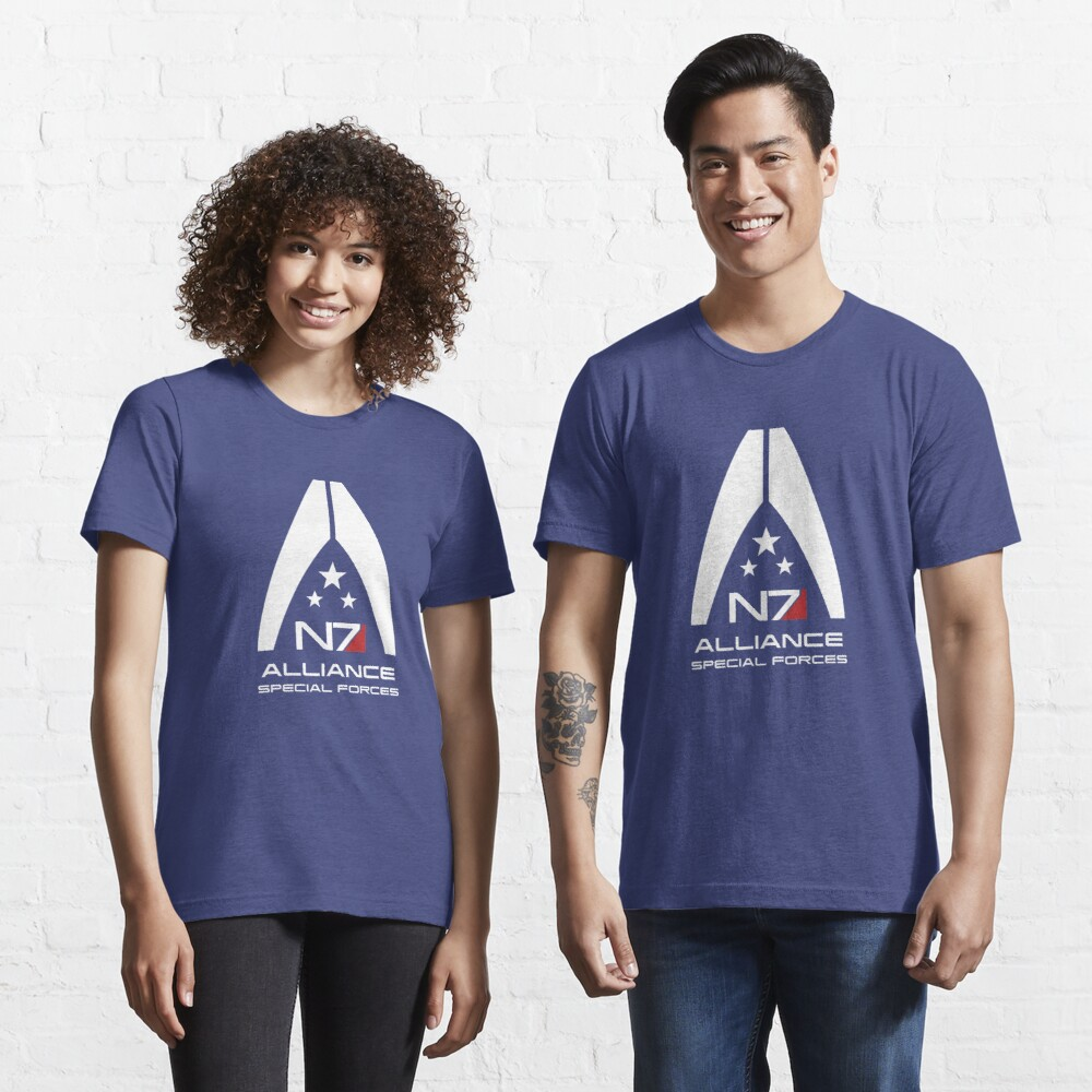 Mass Effect - Alliance Special Forces N7 Essential T-Shirt