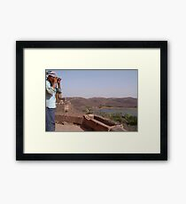 Looking out from Ranthambore Fort Framed Print