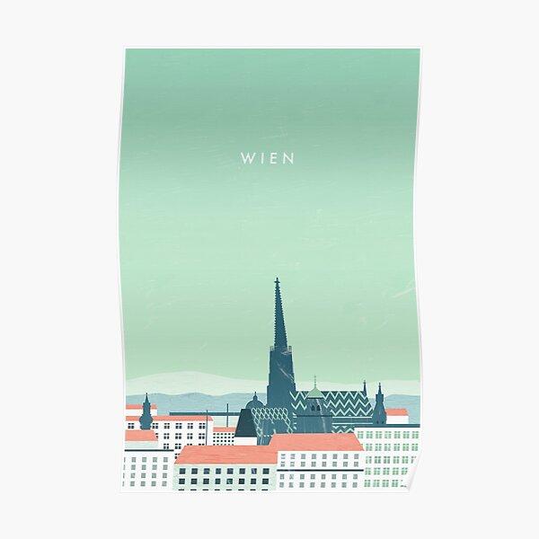 Vienna travel poster Poster
