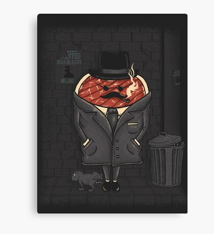 Steakout Canvas Print