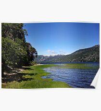 Lake Ruca Choroy Poster