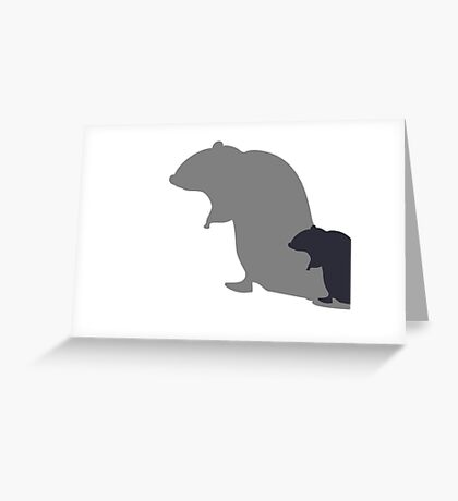 Master Rat VRS2 Greeting Card