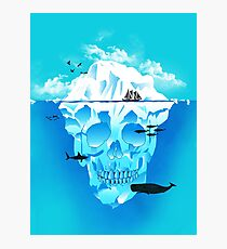 Cold Cruisings and Icy Endings Photographic Print