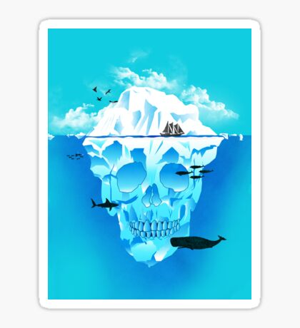Cold Cruisings and Icy Endings Sticker