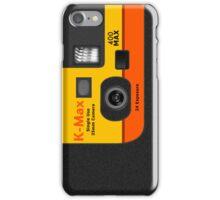 Disposable Camera - K-Max iPhone Case/Skin