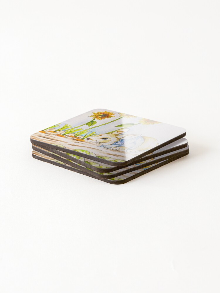 Alternate view of Peter Rabbit (In My Style) Coasters (Set of 4)