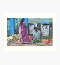 Street sales with low overheads ! Art Print