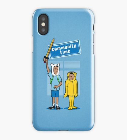 Community Time! iPhone Case