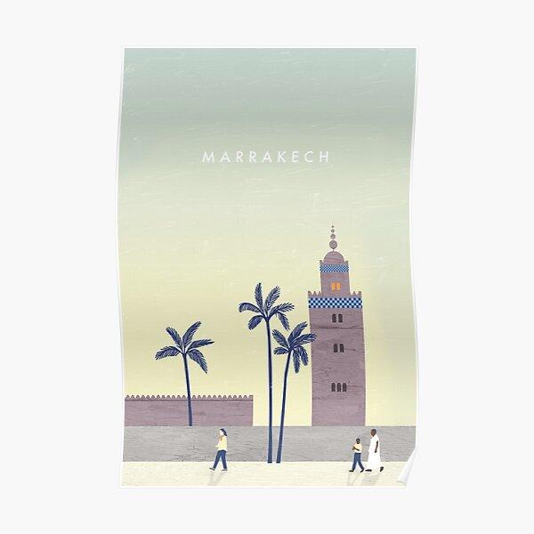 Affiche de voyage Marrakech Poster
