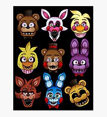 Five Nights Photographic Print