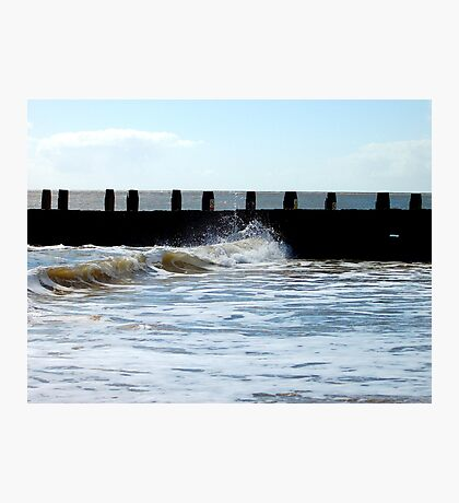 Water Above The Wave! Photographic Print