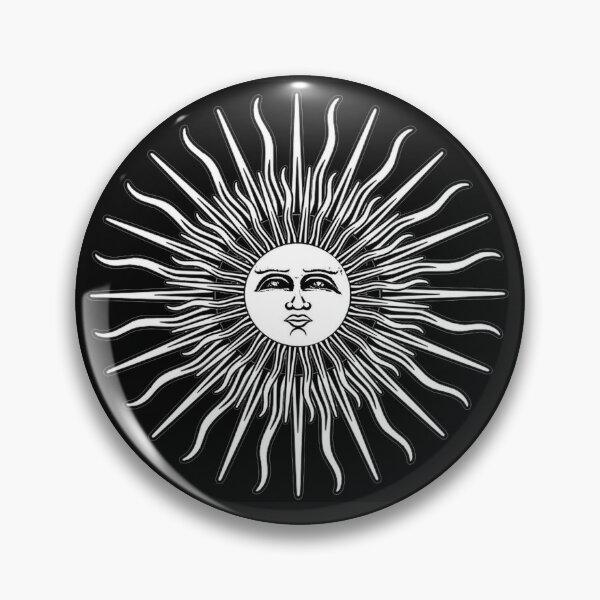 Folk Horror Revival. Sun - textless Pin