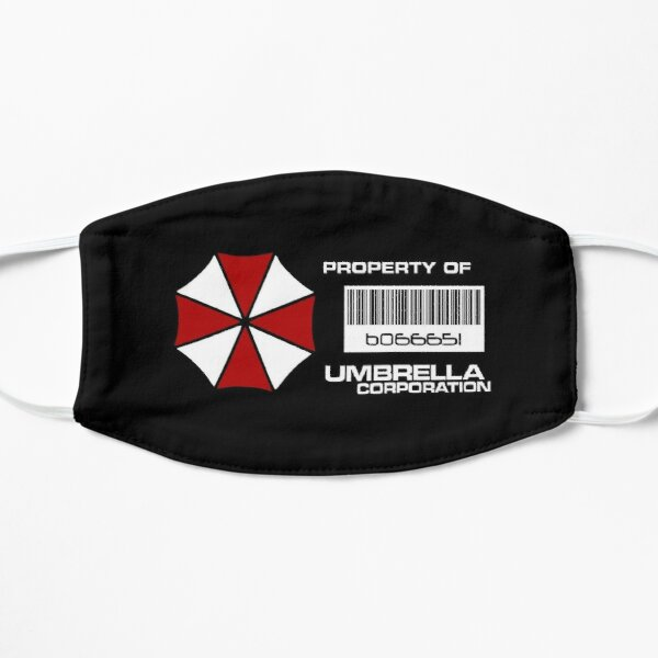 Eigentum der Umbrella Corporation Flache Maske