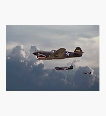 P40 - Flying Tigers Photographic Print