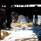 Waves In The Groyne! by DCLehnsherr