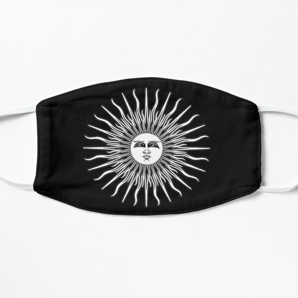 Folk Horror Revival. Sun - textless Mask