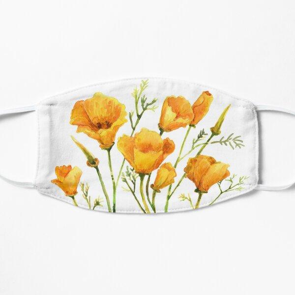California Poppies Mask